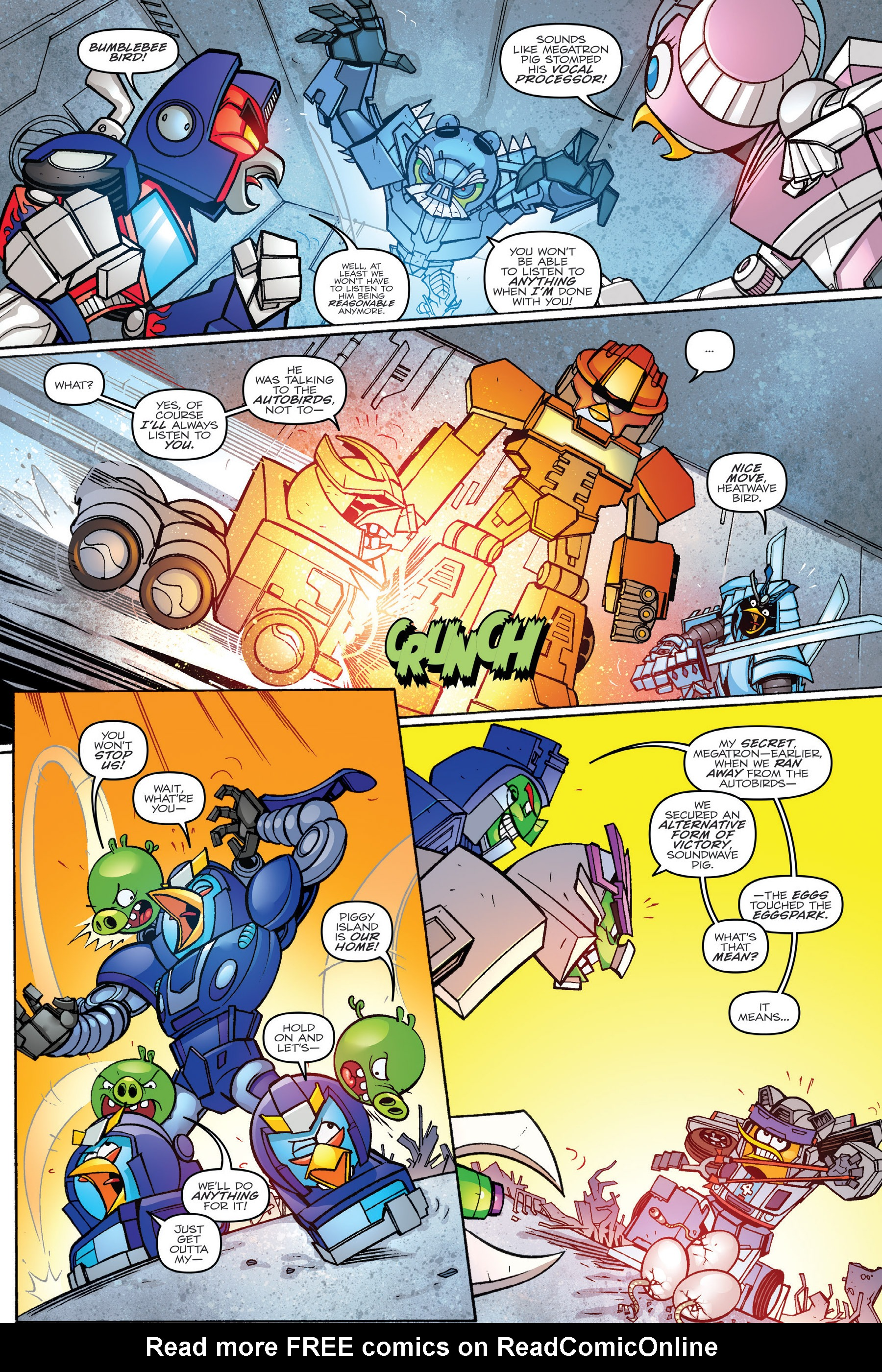 Read online Angry Birds Transformers: Age of Eggstinction comic -  Issue # Full - 44