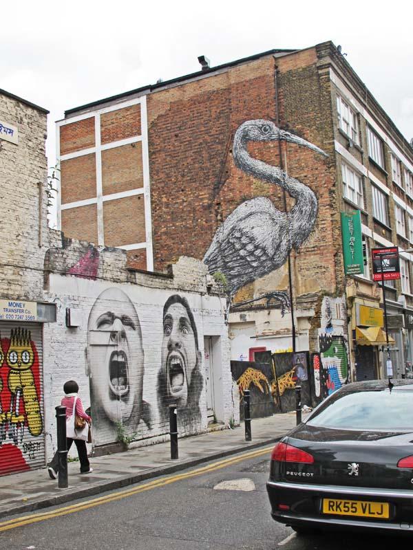 Brick Lane: Jennifer Coyne Qudeen: London