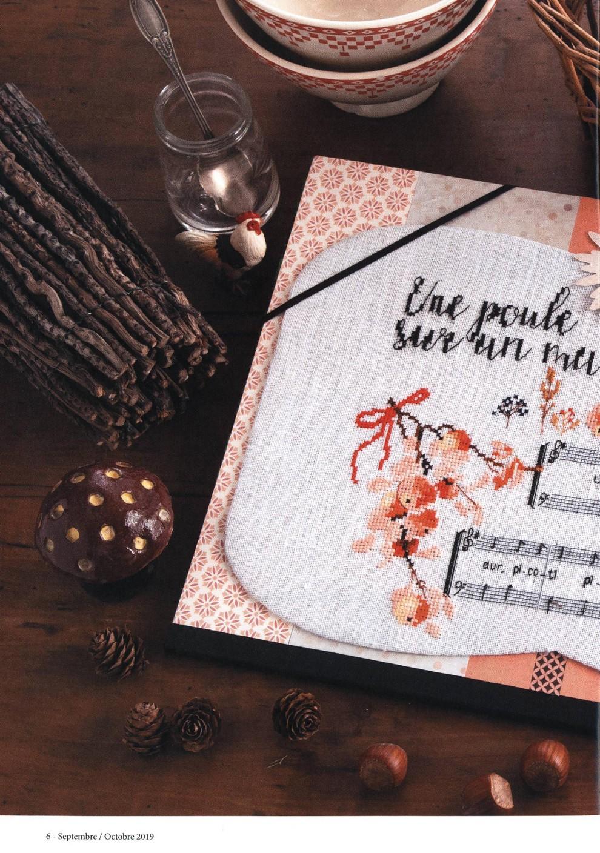 Журнал со схемами вышивки - Creation Point De Croix №78 2019 (6)