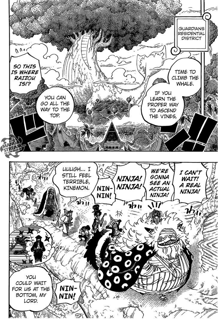 One Piece Ch.817 - Raizou of the Mist