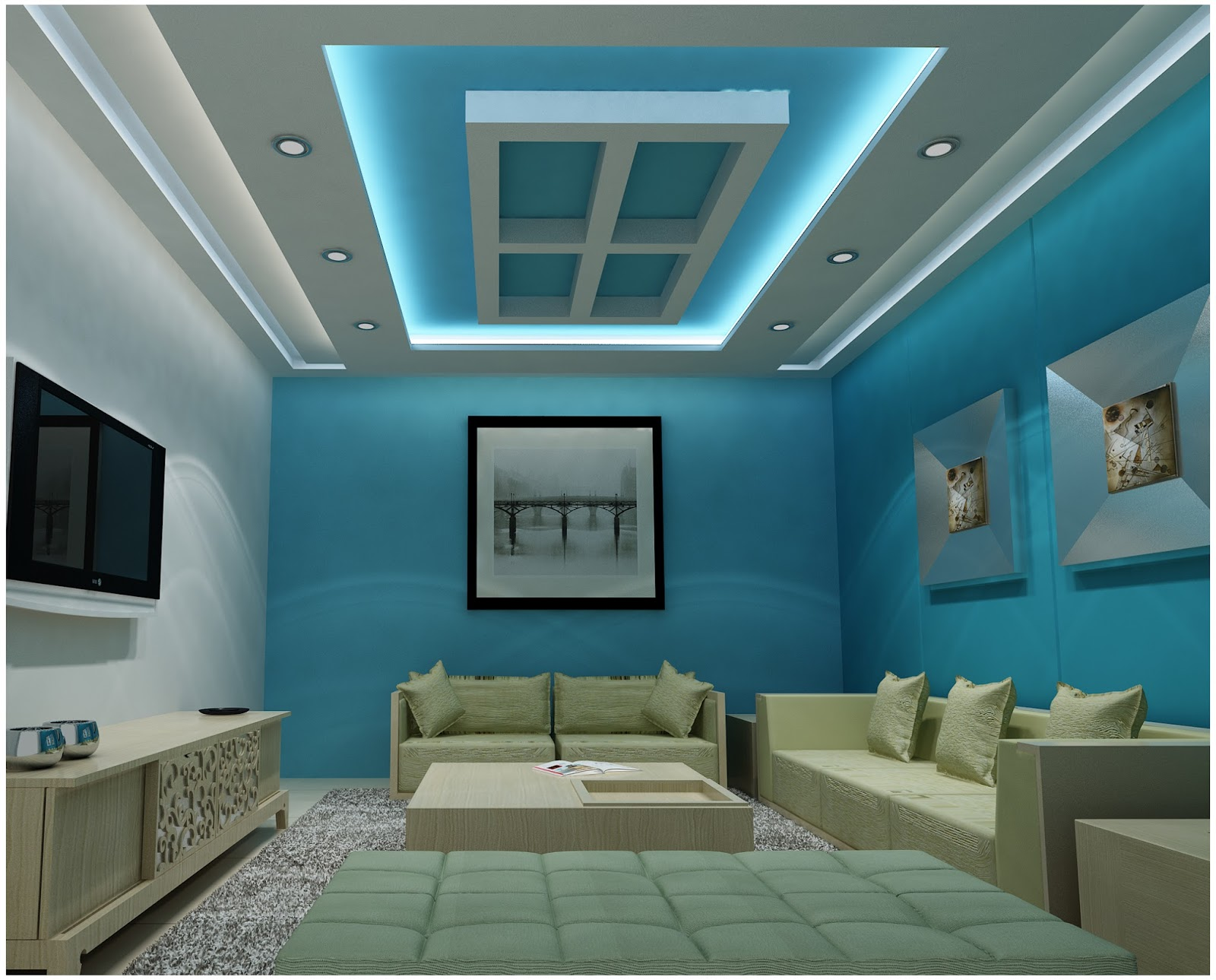 Plaster ceiling luxtury joy studio design gallery best for Modern ceiling design 2017