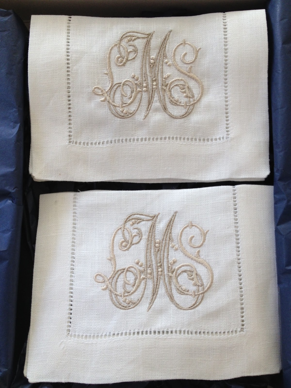 Number Four Eleven Monograms