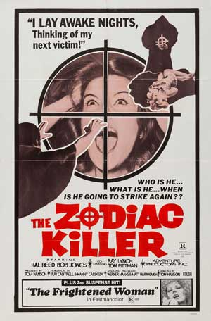 TOP 15 HORROR MOVIES INSPIRED BY REAL PEOPLE 12. The Zodiac Killer (1971)