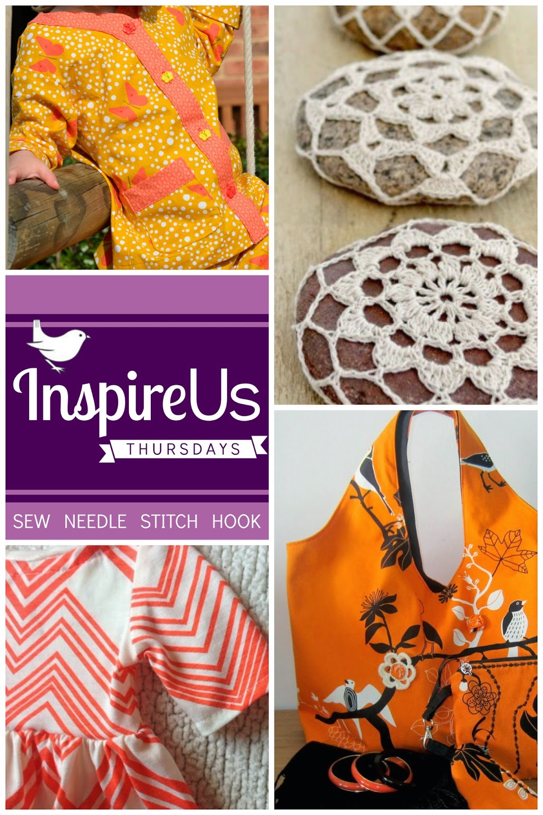 Inspire Us Thursdays: Sew Needle Stitch Hook | June 5 Features! | The Inspired Wren