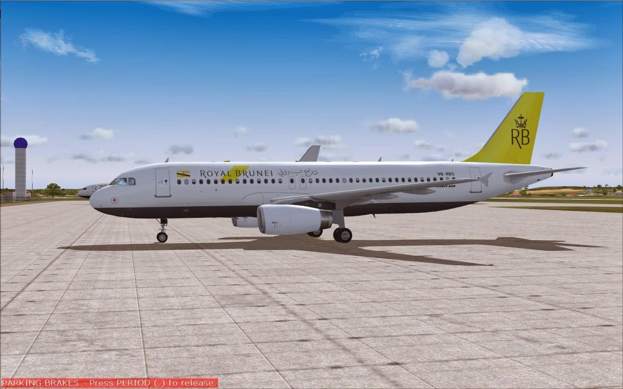Fs2004 Repaints Project Airbus A320 200sl Flynas Vp Cxj - Modern
