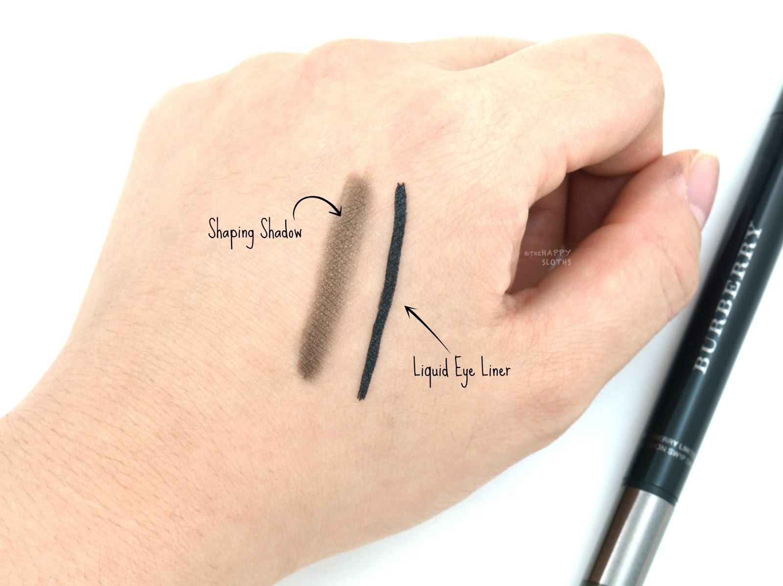 """Burberry Cat Eye Liner in """"No.01 Jet Black"""": Review and Swatches"""