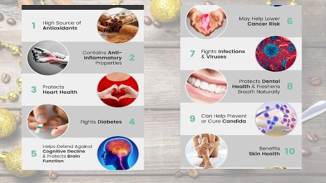 Beneficios para la salud del Cinnamomum verum