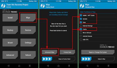 Install Android Oreo 8.0 Xiaomi Redmi Note 4X Snapdragon (Mido)