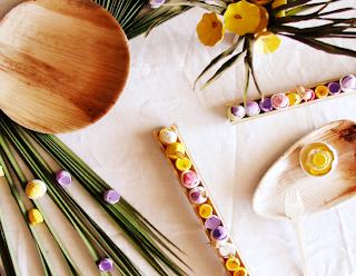 bambù-fiori di carta-allestimenti