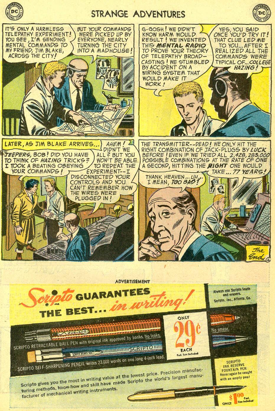 Strange Adventures (1950) issue 44 - Page 23
