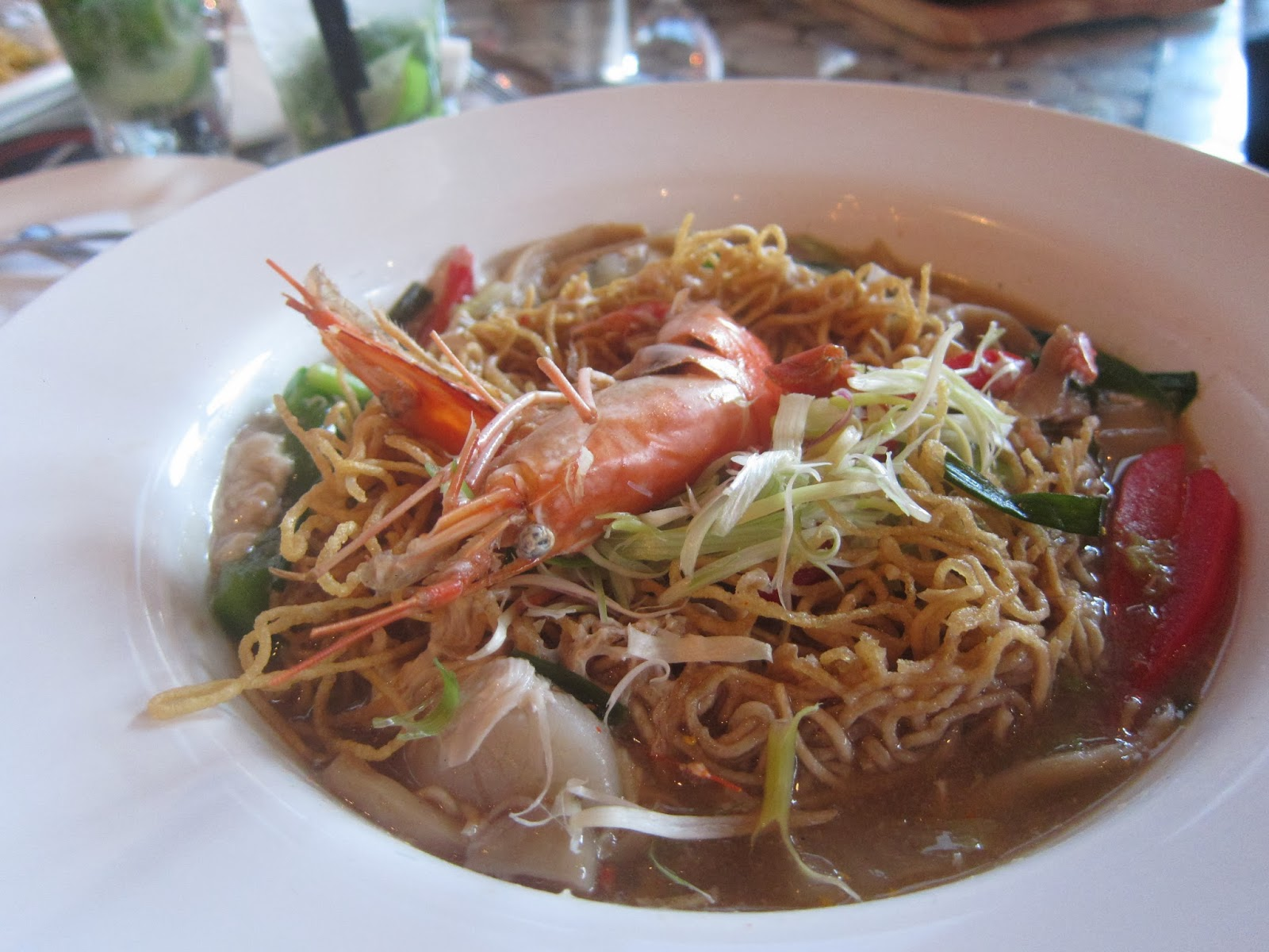 Signature The Hill Local Cravings- Imperial King Prawn Noodles