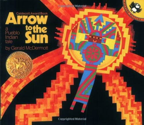 Arrow to the Sun, part of children's book review list about outer space