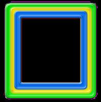 Moldura quadrada png