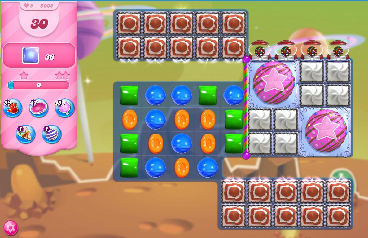 Candy Crush Saga level 5005
