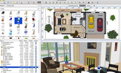 Progettare casa arredare stanze e interni in 3d for Programma per progettare casa 3d