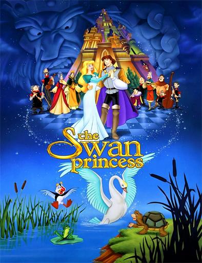 Ver La princesa encantada (The Swan Princess) (1994) Online