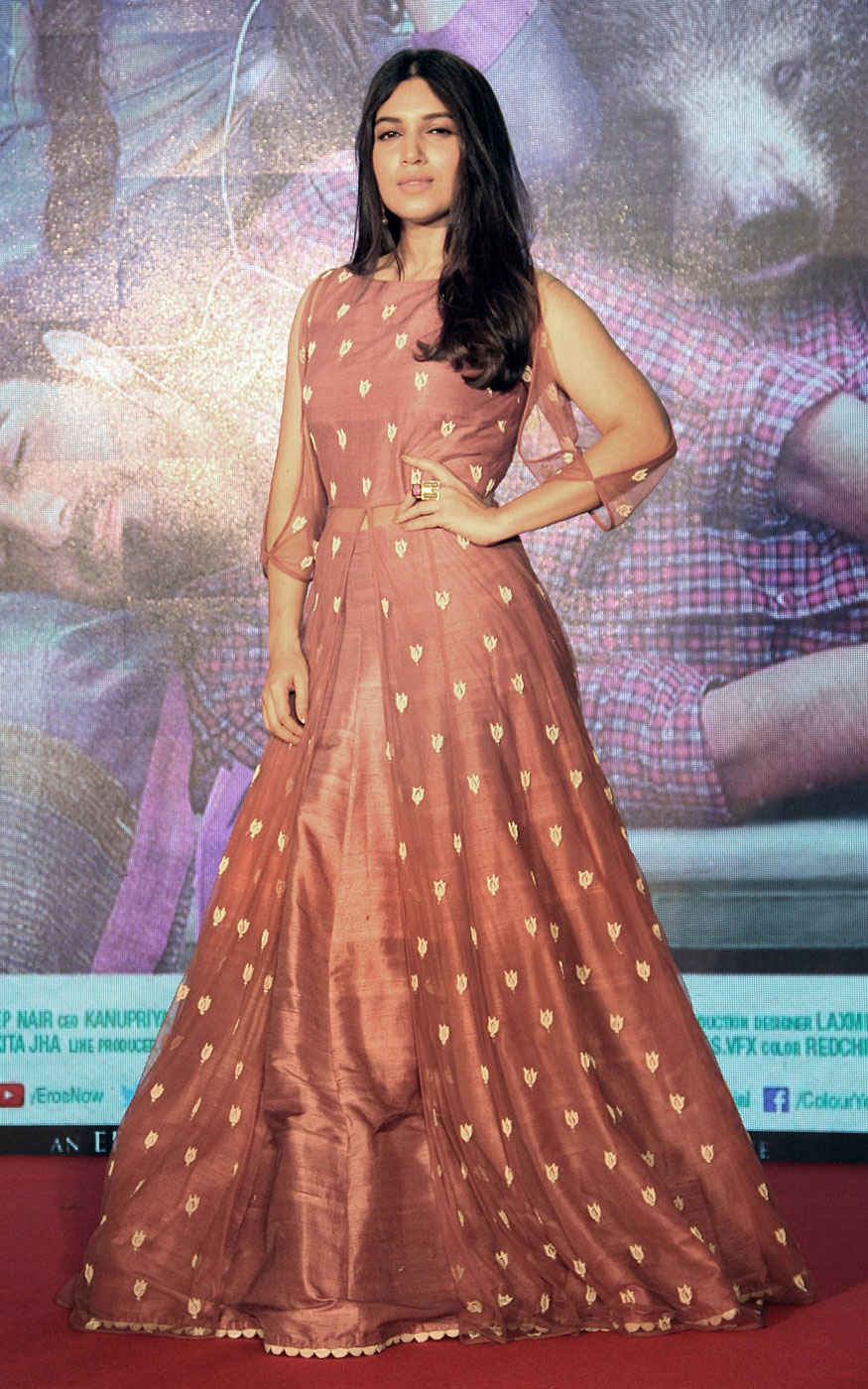 Ayushmann Khurrana and Bhumi Pednekar at Trailer Launch of 'Shubh Mangal Savdhan'