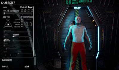 SCUM, Character Creation