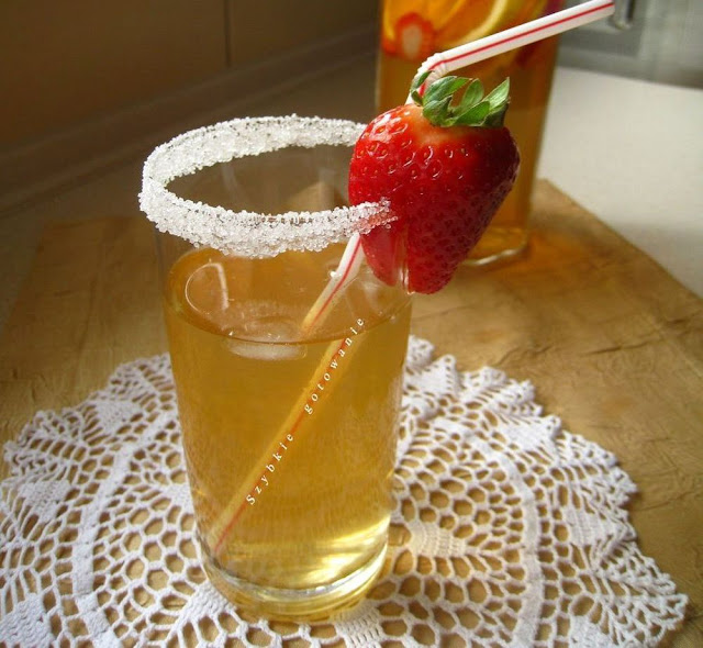 domowa mrożona herbata ice tea