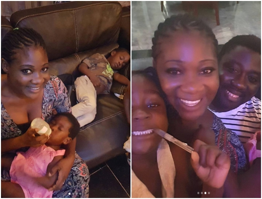 Mercy Johnson shares beautiful family photos