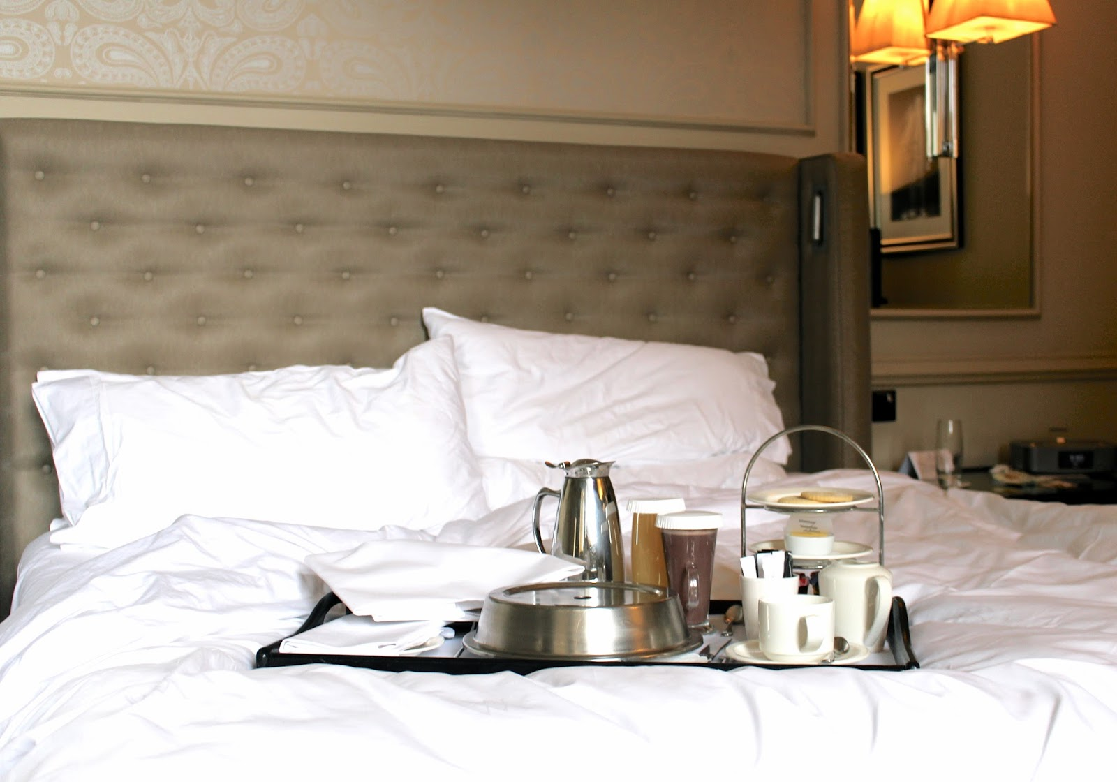 waldorf astoria edinburgh room service