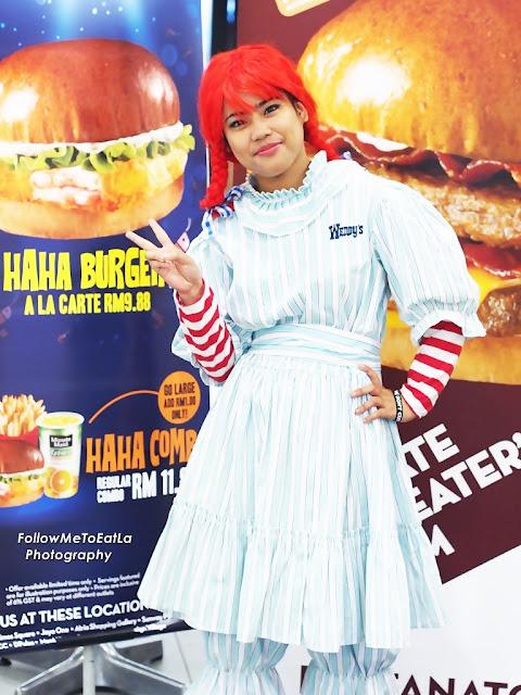 Sweet Gal Wendy's Mascot