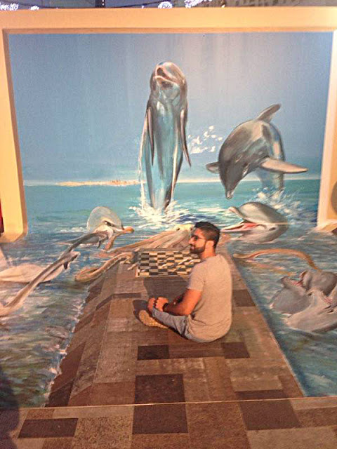 Dubai Canvas Festival 3 d art