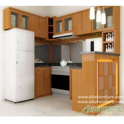 kitchen set with mini bar model nancho