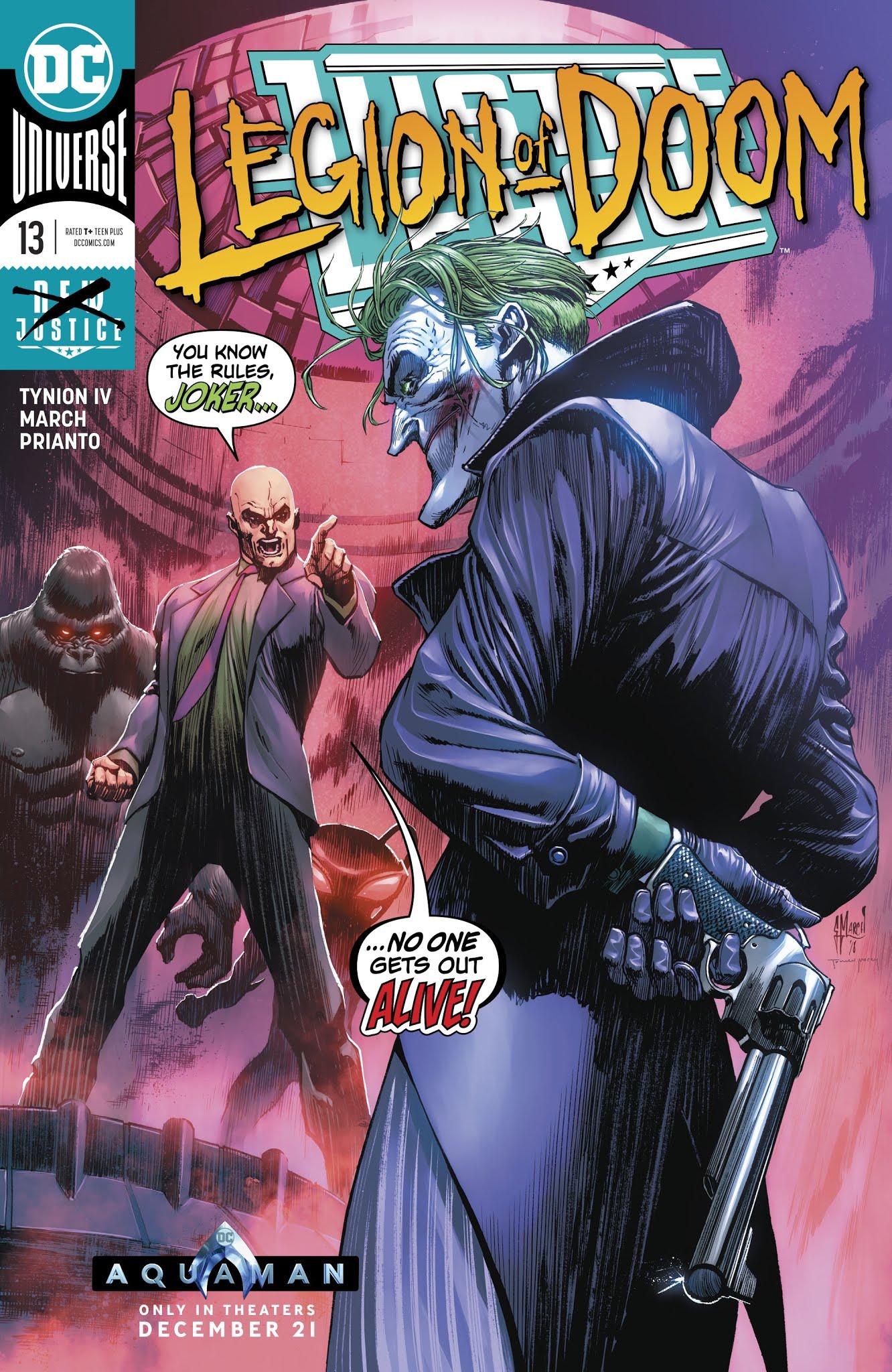 Justice League (2018) 13 Page 1