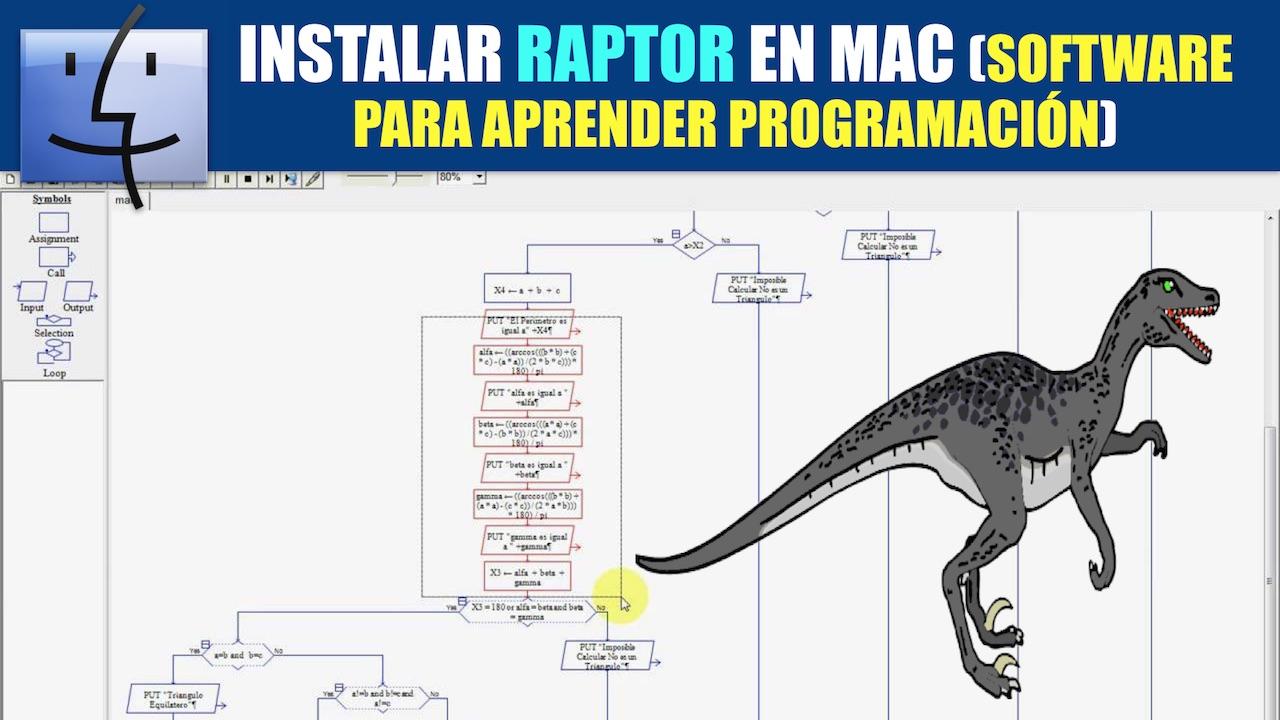 raptor diagramas de flujo para mac
