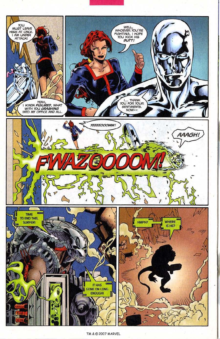 Read online Silver Surfer (1987) comic -  Issue #124 - 24