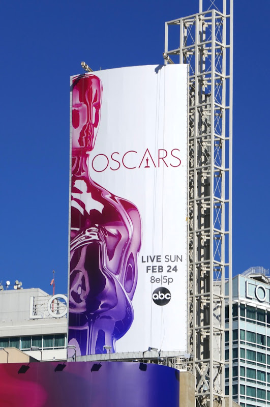 2019 Oscars billboard