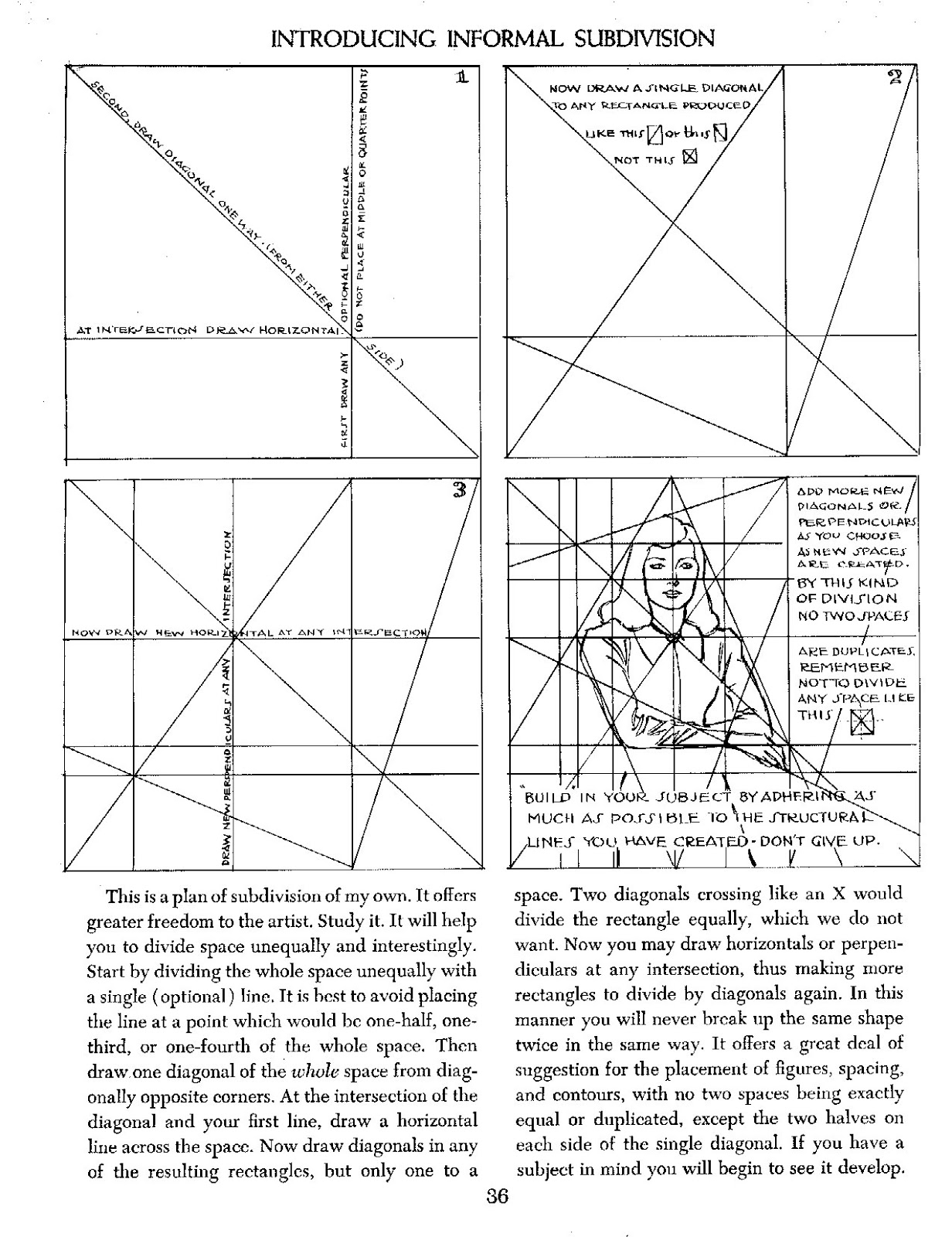 Kreated By Krause Andrew Loomis S Informal Subdivision