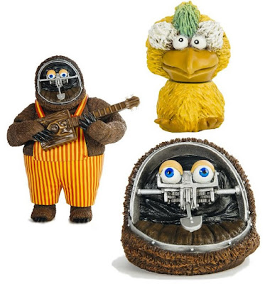 The Rock-Afire Explosion Billy Bob Brockali Vinyl Figure by Justin Ishmael