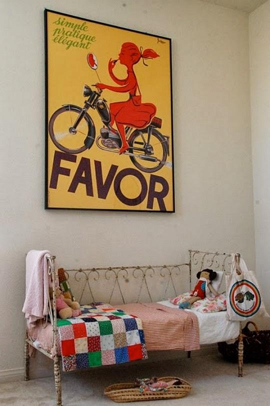 Carteles vintage de publicidad como cuadro. Posters antiguos para decoración