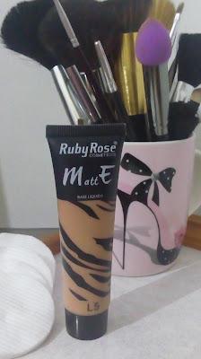Base Liquida Matte Ruby Rose