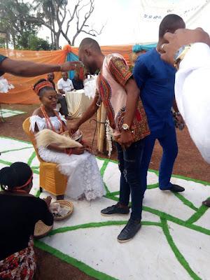 MODERIA2018: Celebration as Female Graduates UNIZIK (Eucharia Okoh) Has Her Traditional Marriage Ceremony In Enugu, Nigeria (Photos & Videos)
