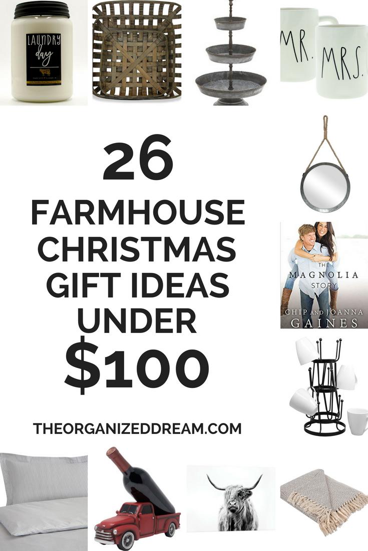 26 Farmhouse Christmas Gift Ideas Under 100 The