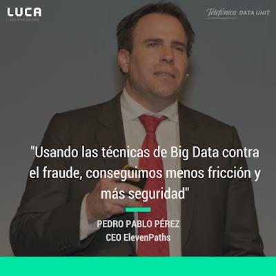#LanzamosLUCA: Pedro Pablo Pérez explica la relación entre el Big Data y la Seguridad