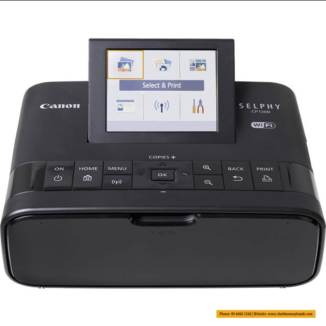 CP1300 giao diện đơn giản dễ hiều