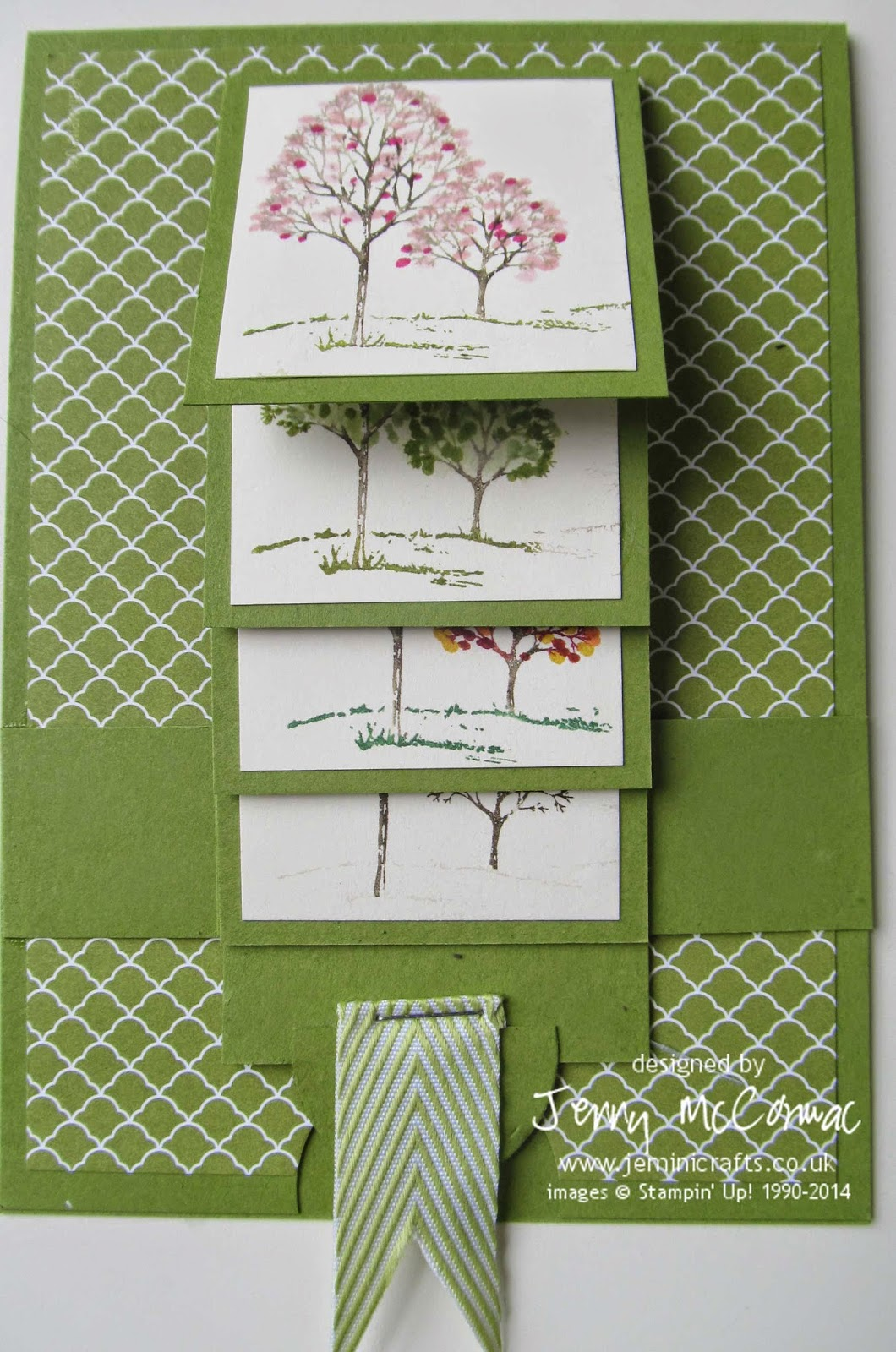 Waterfall card class www.jeminicrafts.co.uk May 2014