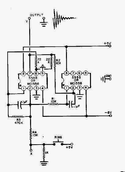 Pleasing Electronic Bell With Two 555 Timers Circuit Diagram Wiring 101 Orsalhahutechinfo