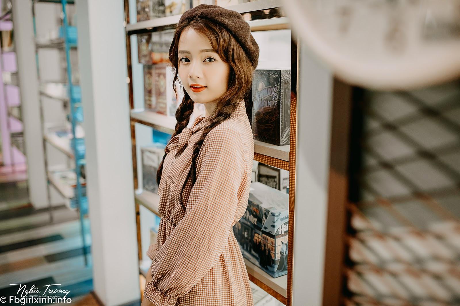 Vẻ đẹp búp bê của hot girl ảnh thẻ Hương Lê ...