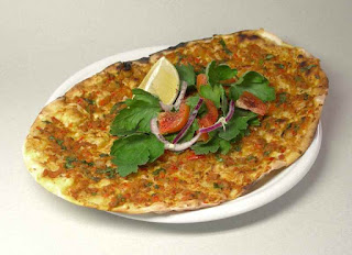 Tortilla with Ground Beef (Kolay Lahmacun)