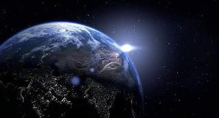 Se registran Explosiones de luz en la atmósfera de la tierra.