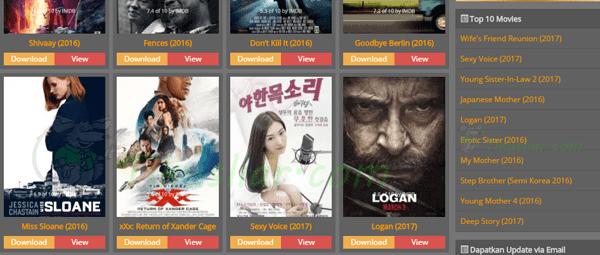 Situs Untuk Download Film Terupdate 2017 Terlengkap dan Gratis
