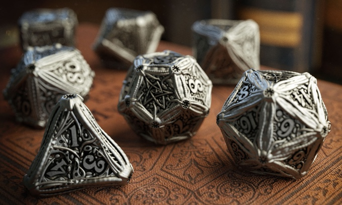 Reviews from R'lyeh: Cthulhu Dice Go Metal