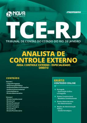 Apostila Concurso TCE RJ 2020 Analista em Direito Grátis Cursos Online