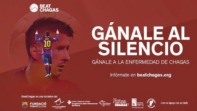 Messi protagoniza la nueva campaña de la Fundación del Barça