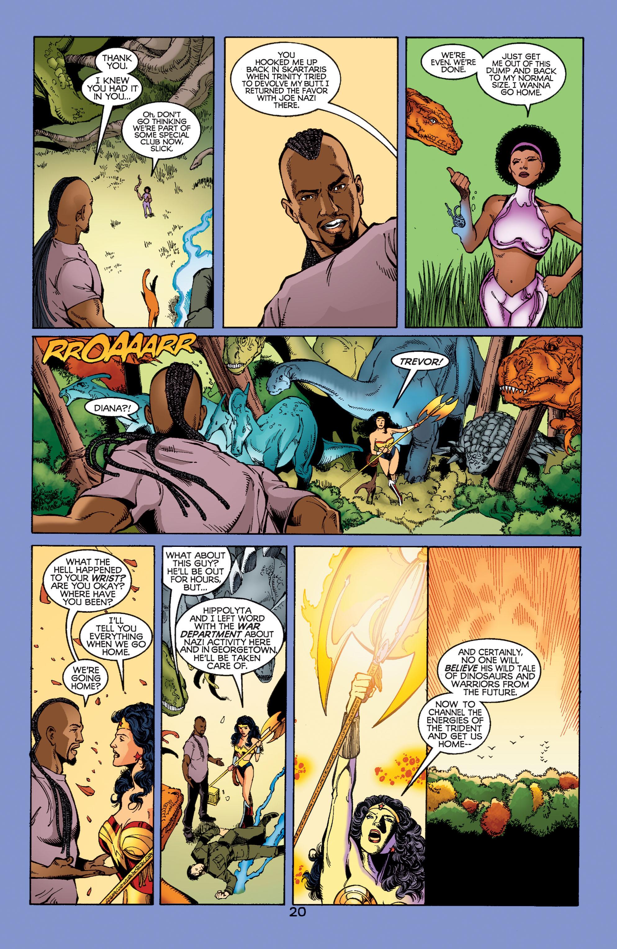 Read online Wonder Woman (1987) comic -  Issue #185 - 21